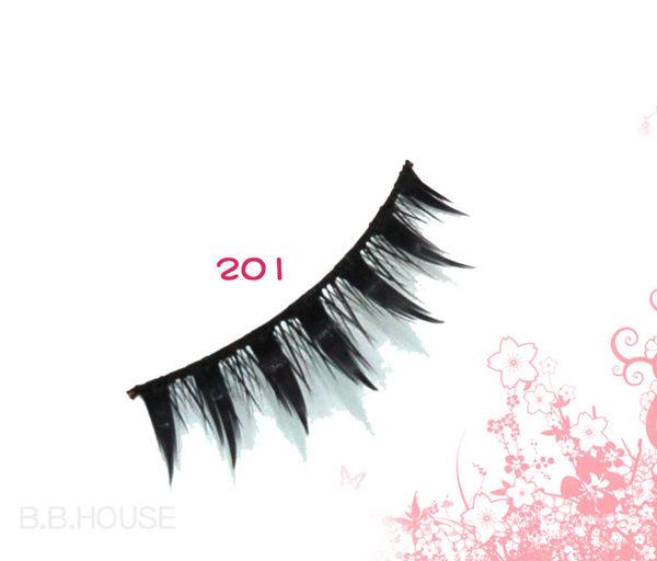 寶貝窩【T201】Auein人氣商品~手工假睫毛一盒10對