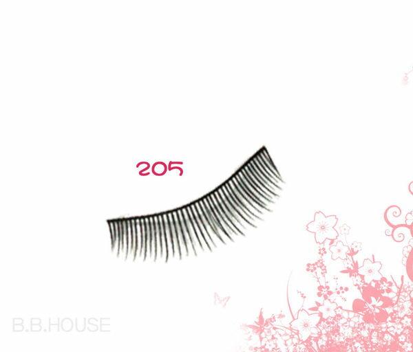 寶貝窩【T205】亞芸人氣純手工假睫毛一盒10對