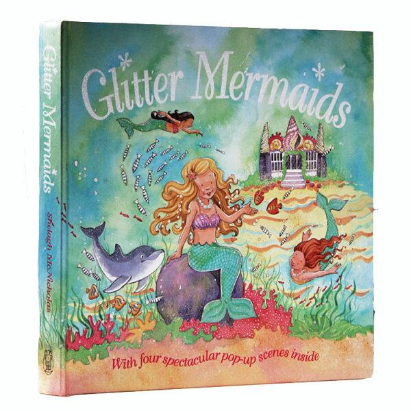 Glitter Mermaids 3D立體兒童故事書 美人魚童話故事集 *夏日微風*