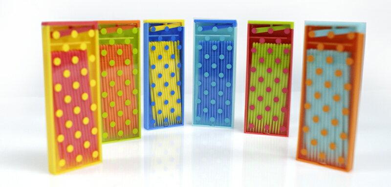 復古隨身型環保PLA牙籤 Old-School Toothpick Box(6入一組) 0