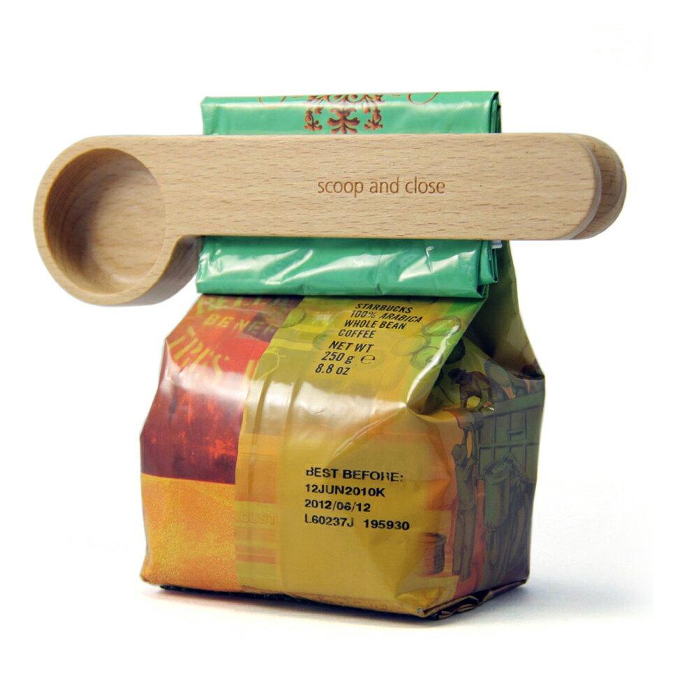 【DCI】二合一封口咖啡量匙 2