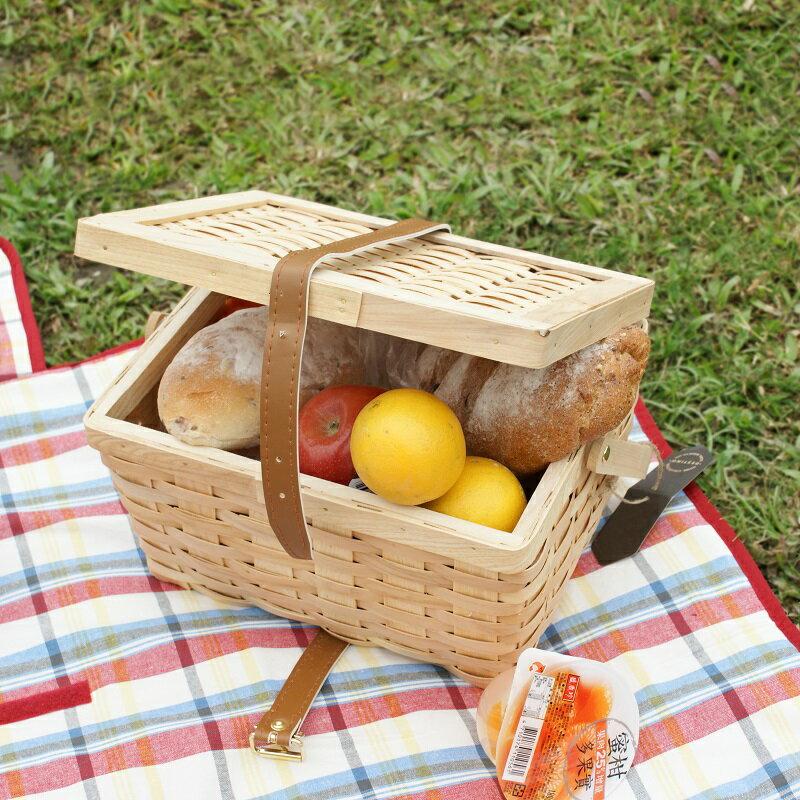 【DESTINO STYLE】輕便手提率性野餐籃 1