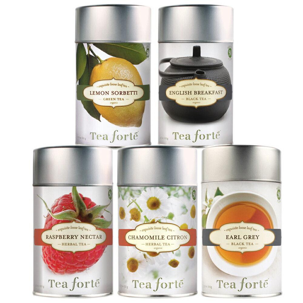 Tea Forte 罐裝茶系列 - 蜜樹香桃綠茶 Green Mango Peach 2