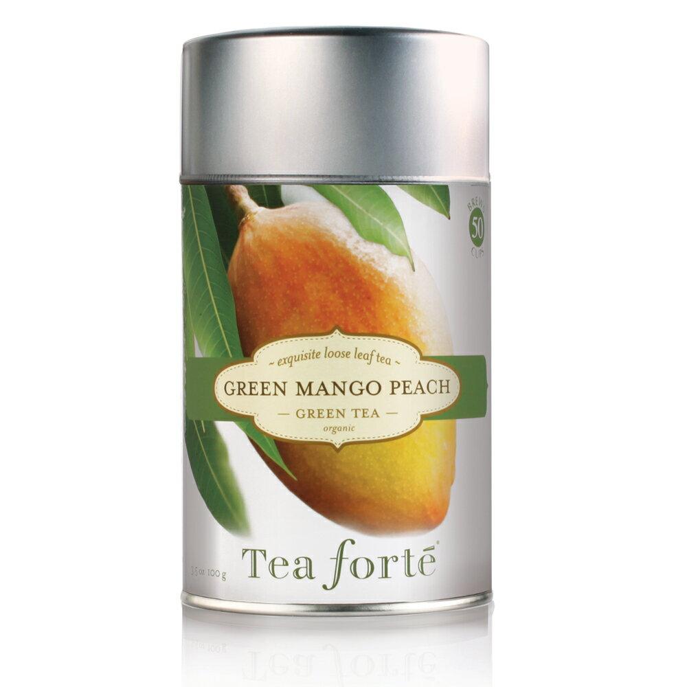 Tea Forte 罐裝茶系列 - 蜜樹香桃綠茶 Green Mango Peach 0
