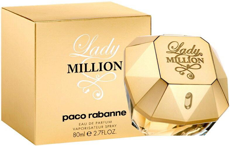 Lady million by paco rabanne eau de parfum vaporizador 80 ml 0