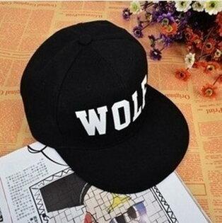 50%OFF【C019562H】韓國EXO周邊MV正規一輯XOXO字母wolf嘻哈帽平沿帽棒球帽街舞帽子