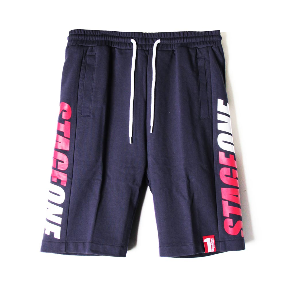 STAGEONE IMPACT SWEAT SHORTS 丈青色/麻灰色 兩色 2