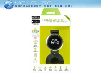 「YEs 3C」雙揚 i-gotU Q-Watch 藍牙腕式心率智慧健身手錶 - Q-77HR (42mm)  OLED顯示螢幕 /曬傷提醒 /IPX7防水 適用標準錶帶