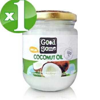 【小資屋】GoodSome第一道冷壓椰子油(225ml)2018.11.8