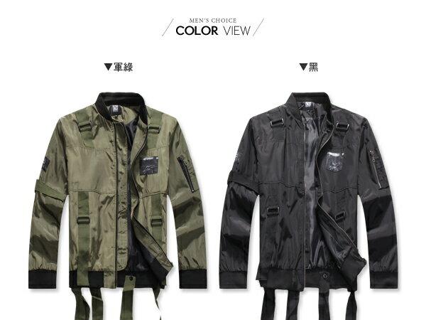 ☆BOY-2☆ 【NQ98067】美式多帶印花飛行夾克外套 2