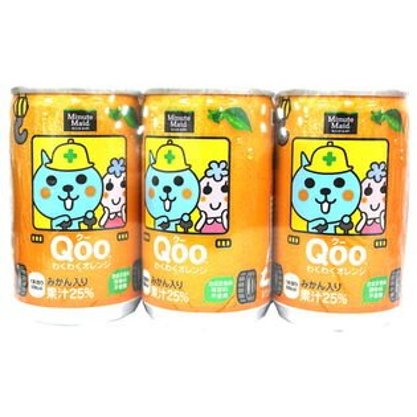 Qoo橘子果汁(6入組)