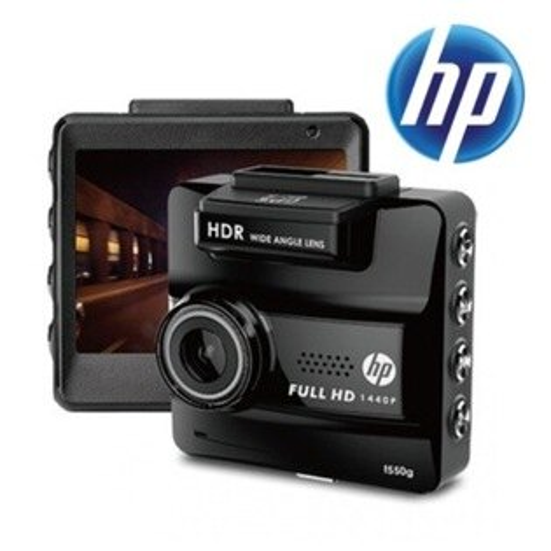 HP惠普 F550G GPS 156度超大廣角 1440P高畫質行車記錄器 /HDR高動態技術/測速照相警示
