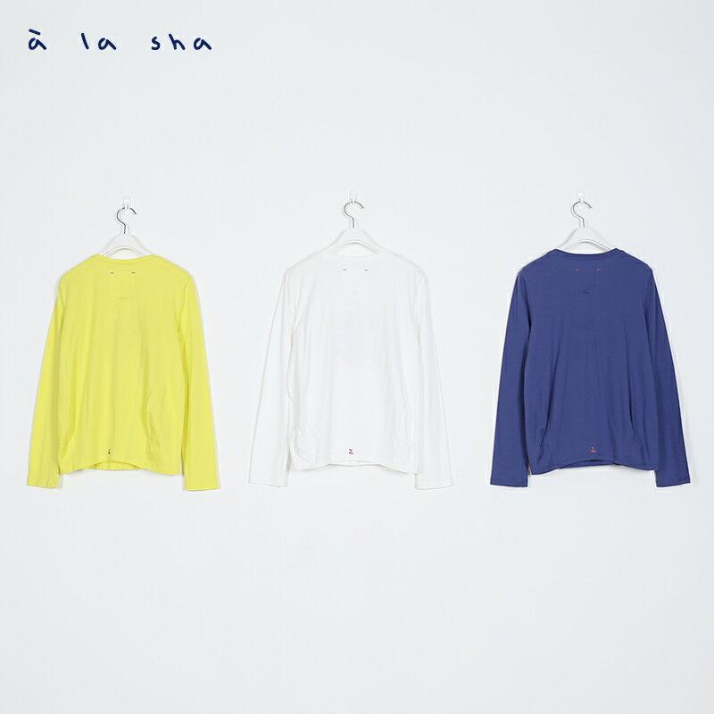 a la sha Qummi 磨菇貼布繡長袖T恤 3