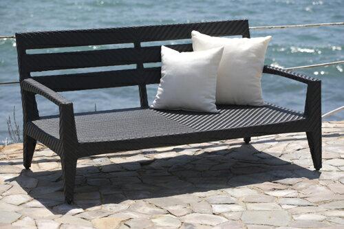 PANAMERA 帕納米 雙人沙發 戶外家具【7OCEANS七海休閒傢俱】EXPRESSO 黑褐色 1