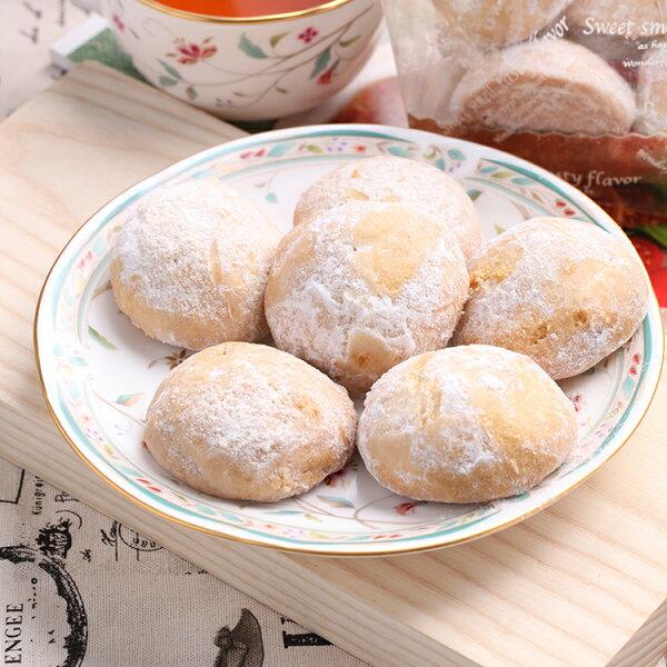 日式雪球手工餅乾(8顆)★香脆酥口【布里王子】