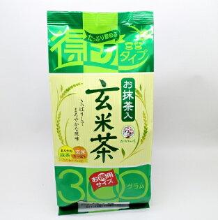 【橘町五丁目】宇治森德抹茶玄米茶300g