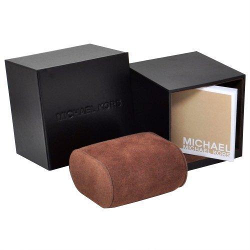 【MICHAEL KORS】正品 閃耀玫瑰金色羅馬滿天星三環黑色陶瓷手錶 MK5879 4