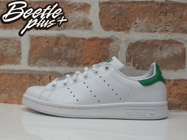 女生 BEETLE PLUS ADIDAS ORIGINALS STAN SMITH 白綠 愛迪達 復古 休閒鞋 余文樂 女鞋 M20605 0