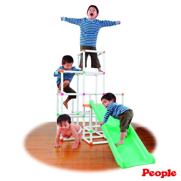 People - 4層攀爬架滑梯組 1