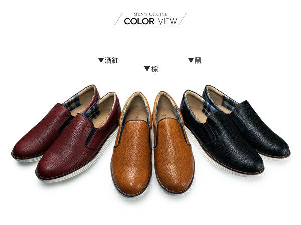 ☆BOY-2☆【NKP-FTP08】休閒皮革質感懶人鞋 1
