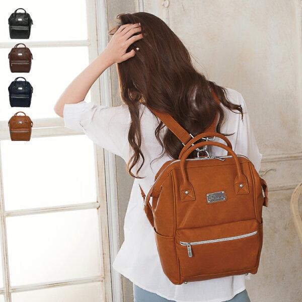後背包 女包男包 獨家品牌耐磨皮革 日本人氣經典款情侶側背/手提包 89.Alley ☀4色 HB89169