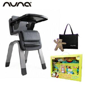 【贈鮮果園禮盒+收納袋+玩偶(隨機)】荷蘭【Nuna】ZAAZ 高腳椅(灰黑) 0