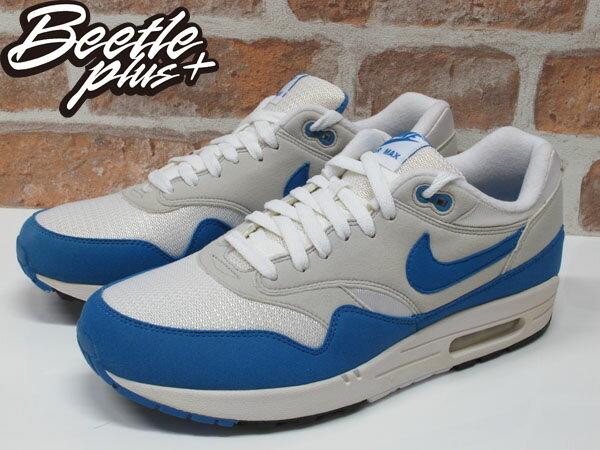 BEETLE PLUS NIKE AIR MAX 1 白藍 北卡 喬丹 90 95 慢跑鞋 男生 運動鞋 氣墊 378830-141 1