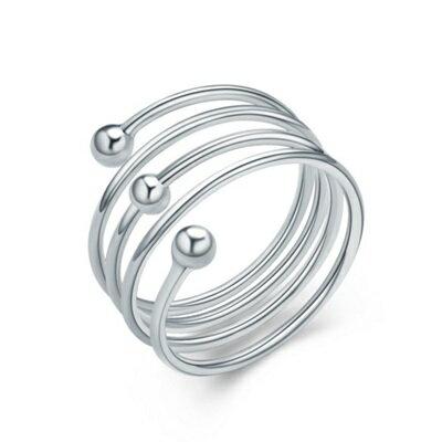 925純銀戒指 銀飾~ 彈簧七夕情人節生日 女 73an90~ ~~米蘭 ~ ~  好康折