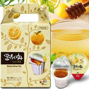 韓國進口 蜂蜜柚子茶禮盒 膠囊奶球包裝設計 [KR204]