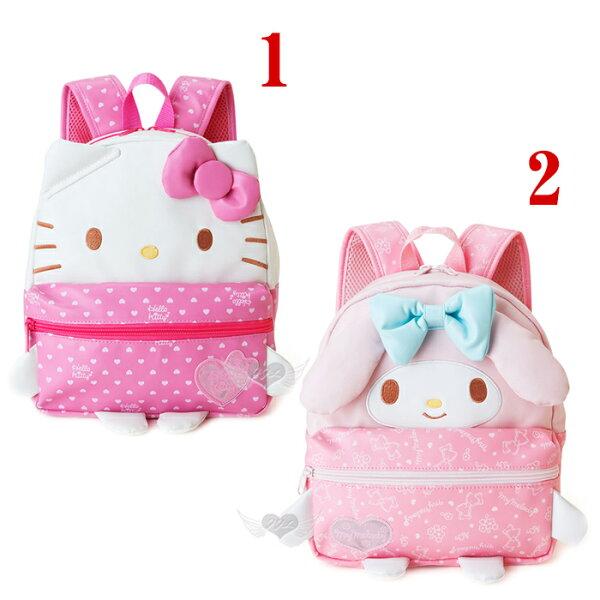 HELLO KITTY美樂蒂造型兒童後背包包 2選1  10888544*JJL*