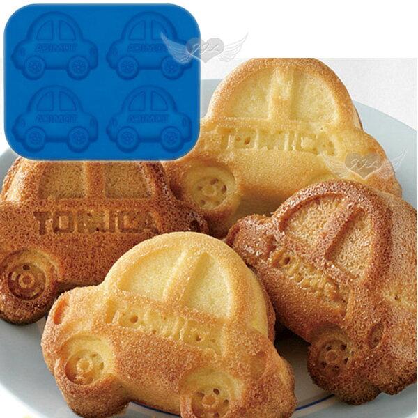 TOMICA汽車矽膠壓模模具模型做巧克力冰塊蛋糕餅乾 111587*JJL*