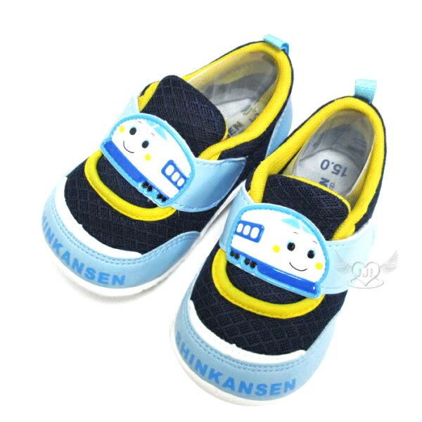 台灣製新幹線兒童鞋子透氣鞋休閒鞋藍色12.5~15cm 6選1 95711550*JJL*