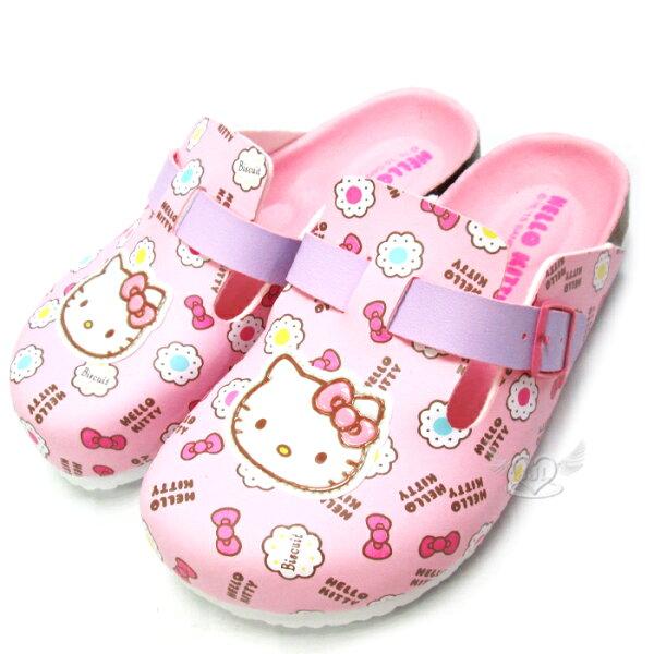 台灣製HELLO KITTY兒童拖鞋懶人鞋粉色15~20cm 6選1  95711630*JJL*