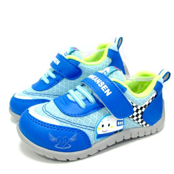 台灣製新幹線兒童鞋子休閒鞋藍色14~18cm 5選1 95711670*JJL*