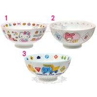 美樂蒂My Melody周邊商品推薦到*JJL*HELLO KITTY美樂蒂工程車陶瓷碗 3選1  10158999
