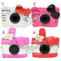凱蒂貓週邊商品推薦到*JJL*HELLO KITTY美樂蒂照相機造型手機袋相機包收納包附掛帶提袋 4選1  72305901