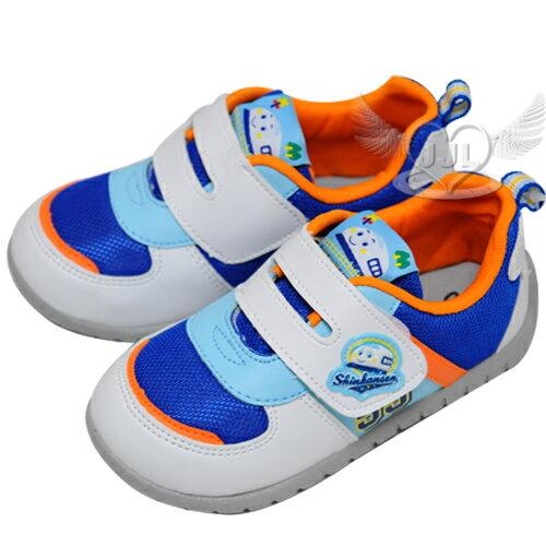 新幹線兒童鞋子布鞋休閒鞋藍白色14~18cm台灣製 5選1  10710310*JJL*