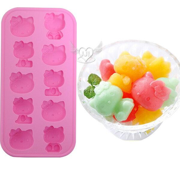 *JJL*HELLO KITTY製冰盒果凍冰塊模型模具  214028