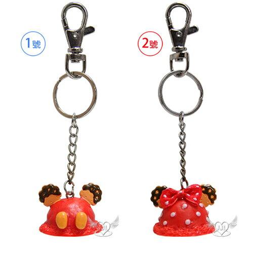 米奇米妮餅乾造型鑰匙圈鎖圈 2選1  29166579*JJL*