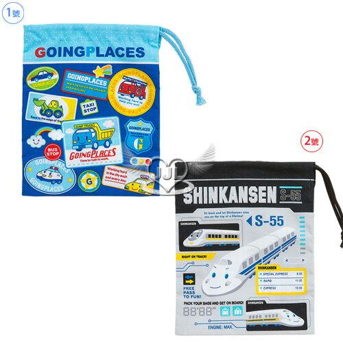 日本製工程車寶石寵物束口袋收納袋16x20cm 2選1  10261361*JJL*