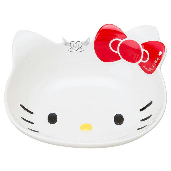 日本製HELLO KITTY陶瓷造型碗盤  732748*JJL*
