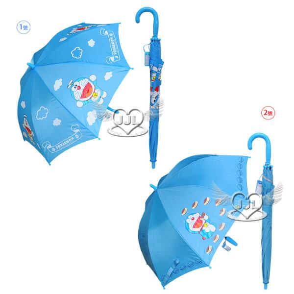 哆啦A夢小叮噹兒童雨傘自動傘長傘直傘 2選1  91652415*JJL*