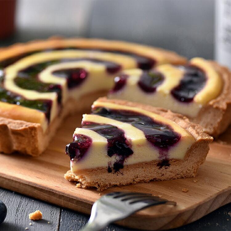 藍莓乳酪派(6吋)★蘋果日報 母親節蛋糕【布里王子】 2