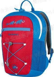 Mammut 長毛象 兒童背包/小朋友背包 附玩偶 First Zip 2510-01542-55320 藍紅8L