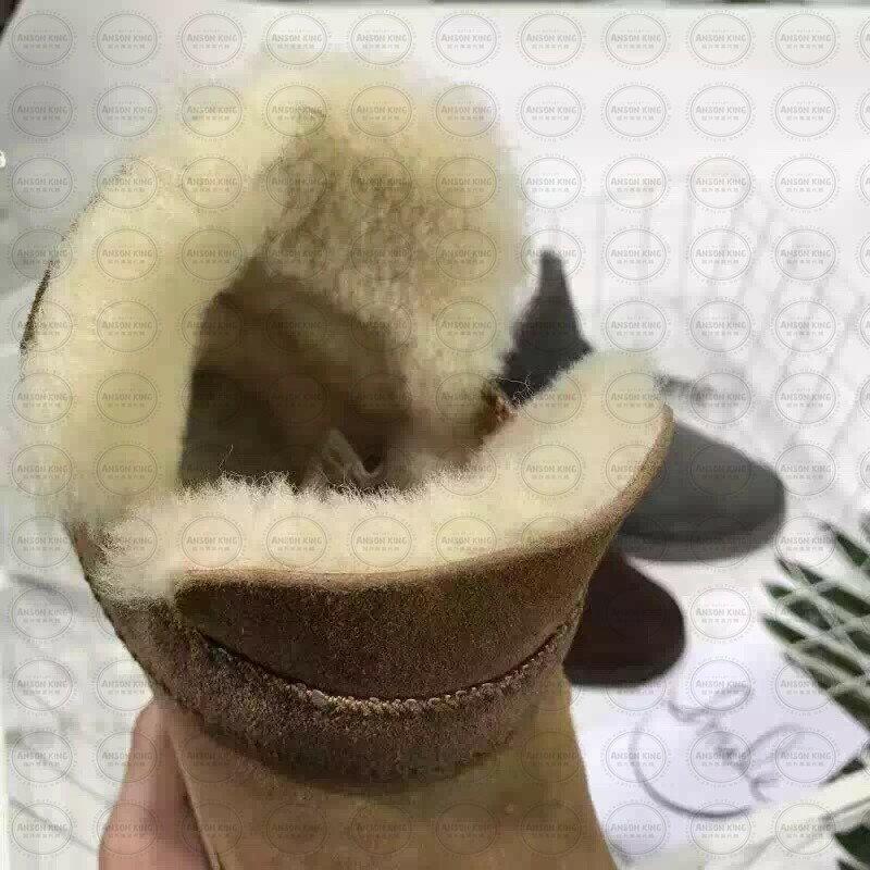 OUTLET正品代購 澳洲 UGG 羊皮毛一體馬汀靴 中長靴 保暖 真皮羊皮毛 雪靴 短靴 棕色 2