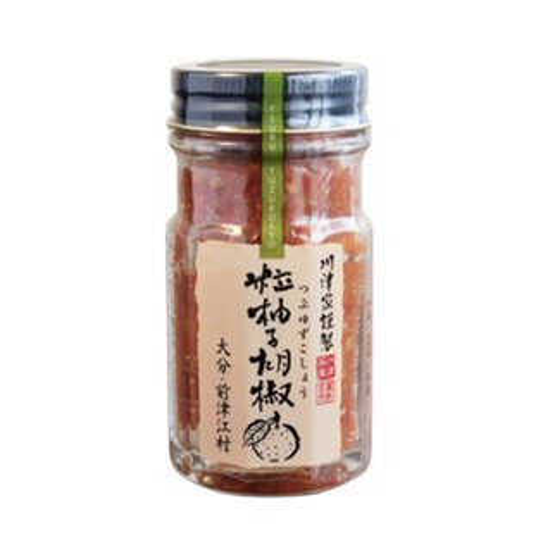 日本九州柚子胡椒粒醬 (紅) 60G