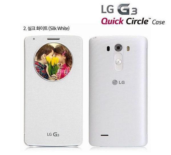 【免運費】LG G3 D855 D850 原廠視窗感應皮套、智能保護套,支援無線充電【CCF-340G】原廠盒裝公司貨
