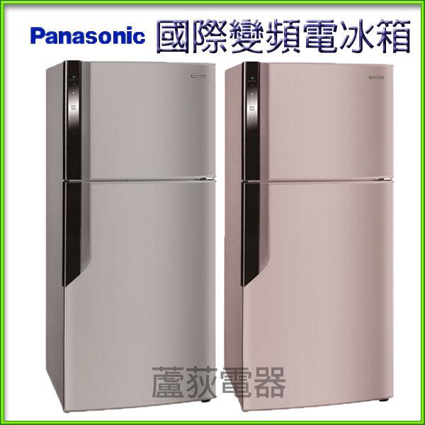 【國際 ~蘆荻電器】全新 422L【Panasonic 雙門變頻電冰箱】NR-B426GV
