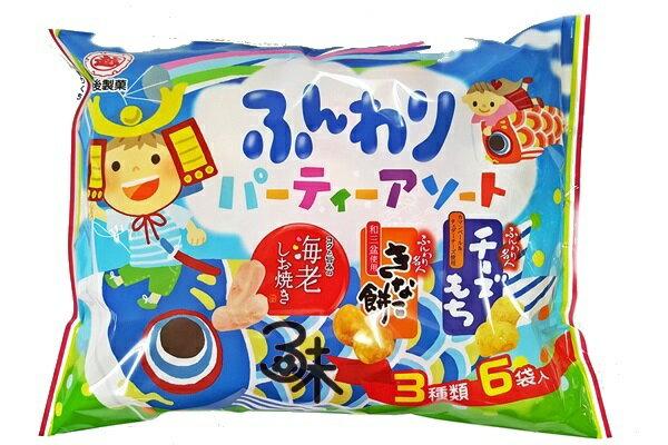 ^( ^) 越後製菓3種類綜合米果 1包 84 公克  133 元 ~4901075015