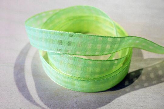 素色格網緞帶-15mm3碼(20色) 1